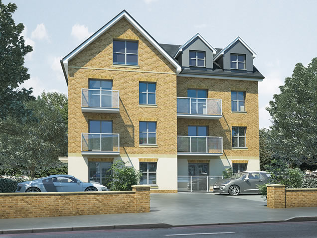 Property CGI 8 Luxury Apartments Beckenham, Kent, BR3