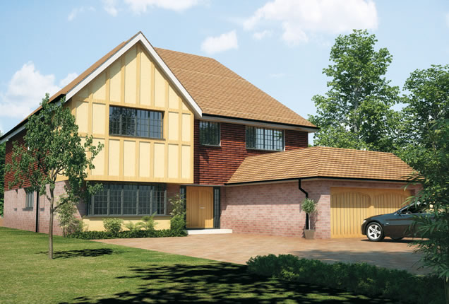 Property CGI Luxury Home Kent