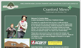 Web Design for New Homes, Kent