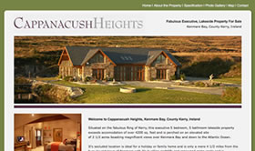 New Homes and Property Web Design for luxury property Ireland